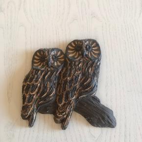 Skønt Ugleophæng i keramik 16x15 cm  Randers nv ofte Århus Ålborg København mm Sender gerne på købers regning  Til salg på flere sider