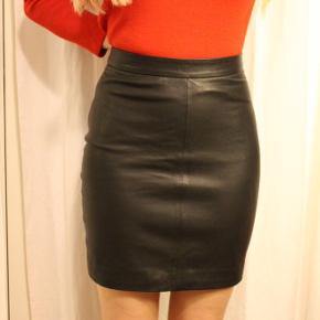 Second female leather skirt