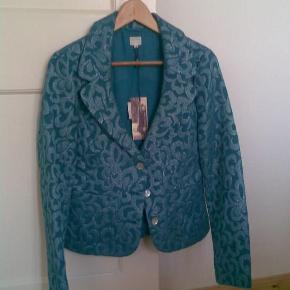 Varetype: Smuk blazer Farve: Turkis  Rigtig flot blazer - bytter ikke!