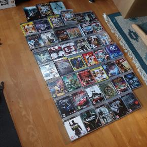 Masse spil til Playstation 3 Sælges   Priser fra 50 pr spil.  Skriv på 30353139