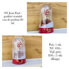 NY Jean Paul - gaultier scandal eau de parfum 80 ml.   Pris: 1 stk. NU 450,-  Vejl. pris: 850,- (1 stk. tilbage)