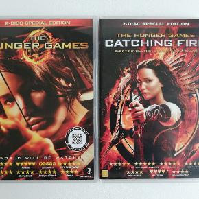 HUNGER GAMES:  The hunger games 2-disc Catching Fire 2 disc  Pris: 25,- stk. plus porto Fast pris Sender med DAO