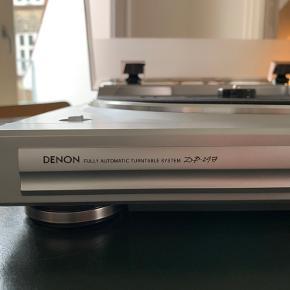 Denon DP-29F pladespiller købt i HiFi Klubben.  Indbygget Ria og inkl. Pick-up Har stadig original kasse og manual.  Ny pris: 1.199 DKK