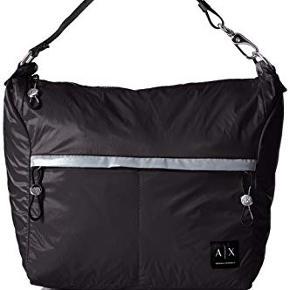Varetype: Helt ny taske i nylon fra Armani Størrelse: lille Farve: sort  Bytter ikke  Helt ny taske i nylon. Har regulerbar hank og flere lommer. Købt i Milano