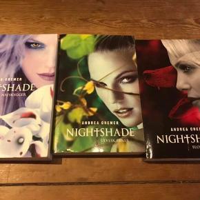 Night shade :) sælges samlet :) sender gerne med DAO på købers regning :)