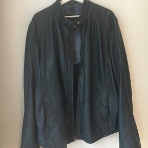 Massimo Dutti skind- & læderjakke