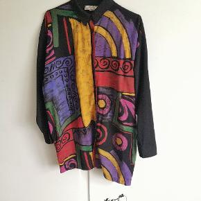 Fresh Prince vibes anyone? Lang vintage skjorte, stand 10/10.