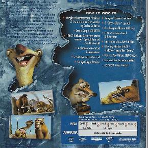 """6790 - Ice Age: Ekstrem Cool Udgave!! (2-disc) (DVD)  Dansk Tale - I FOLIE   Ice Ice Baby! Der er hård konkurrence på animationsområdet. De seneste store hit, Shrek og Monsters, Inc, viser, at man godt kan lave tegnefilm, der også får voksne til at rulle rundt på gulvet af grin. Disney, Pixar og Dreamworks har styret det hele, og det har været svært for studier som Fox at slå igennem. Deres stort anlagte Titan A.E. blev en dundrende fiasko og var årsagen til, at Fox nedlagde deres egen animations afdeling. Men nu har de slået sig sammen med BlueSky Studios under ledelse af instruktøren Chris Wedge (der vandt Oscar for kortfilmen Bunny), og det har skabt den hidtil bedste og flotteste computer-animerede tegnefilm.  Ice Age følger den noget usædvanlige alliance mellem Manny the Mammoth (Ray Romano), Sid the Sloth (John Leguizamo) og Diego the Sabretooth Tiger (Dennis Leary). Da de finder et lille menneskebarn i armene på sin døende mor, beslutter de sig for at finde en stamme, der kan tage sig af det. Men den lille gruppe må igennem meget, før den har heldet med sig. Istiden er ikke en helt ufarlig tid at rende rundt i.     Animationen er simpelthen superflot. Det flotteste, der endnu er lavet på computer, men computerkraft er ikke grunden til, at filmen virker. Det er den fede ide, de gode karakterer og en historie, der aldrig kammer over i musical-numre. John Leguizamo stjæler showet som dovendyret Sid, men alle stemmerne er velvalgte. Selv den kronisk irriterende Ray Romano bliver helt sympatisk, når han får skikkelse som Manny.  Manny: I'm not fat, I just got all this hair. Sid: Sure, you have fat hair, but when you're ready to talk I'll be here.  Der er masser af fede jokes (også en del, der vil gå lige over hovedet på de små), fuld fart over historien, og hvem kan i øvrigt stå for en film, der bruger Vanilla Ice's """"Ice Ice Baby""""-sang i sine reklamer...?     Ice Age er en dejlig, helstøbt film, der aldrig virker, som om den er lavet for at presse endnu flere peng"""