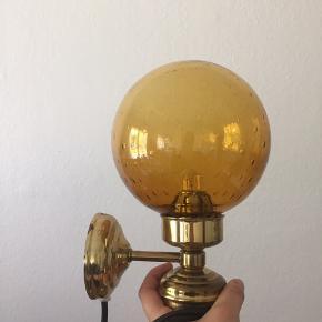 Antik væglampe