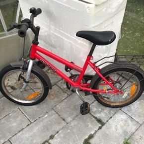 """Fin pigecykel 16"""" Kører fint😊"""