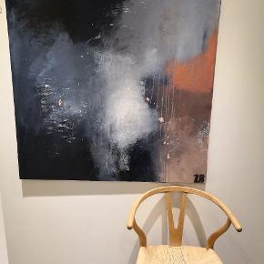 Maleri mål 110x110 plus evt forsendelse. Malet af ut Art By Rohmann. Flere malerier samt udstillinger bag mig. Maler også på bestilling efter ønske om farver og størrelse. 👌