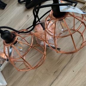 Helt nye loft lamper ubrugt og stadig med mærke på. 🙂