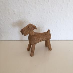 Under handel   Kay Bojesen hund  Fin fin stand Dog  Dansk design   Sender gerne
