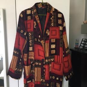 Vintage multifarvet blazer 80/90'er