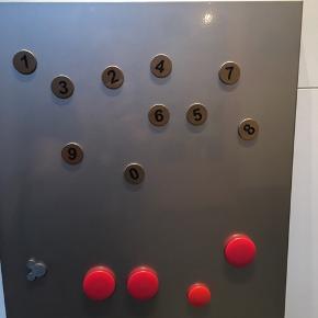 Magnettavle inkl magneter! 👍😍