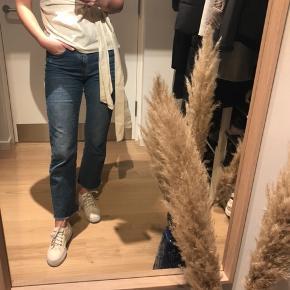 Creme-hvide / lys beige dunlop sneakers