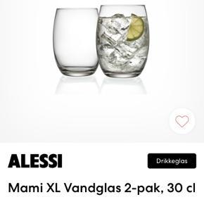 10 stk glas alessi  Næsten som nye  Sender ikke da jeg ikke kan garantere at det når sikkert frem.   Kan afhentes i hinnerup Århus eller Skanderborg efter aftale