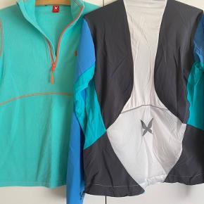 Fleece trøje og løbejakke. Sælges samlet for 225kr