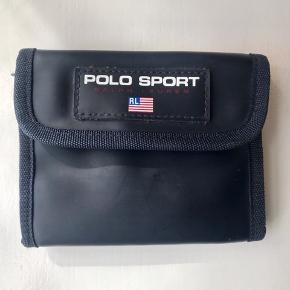 Vintage polo sport pung  Mørkeblå/rød