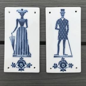 Royal Copenhagen Sæt Mål: 5,5 x 11,5 cm  Afhentes i Herning eller sendes for 29kr