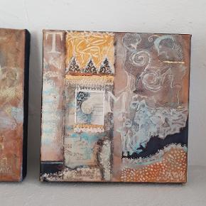To flotte billeder af Annemarie Bang. 15 x15. Pris 150 kr stykket