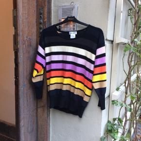 Sonia Rykiel bluse i bomuldsstrik