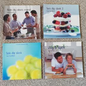 Som NYE. 4 stk. DDV bøger. Masser af ideer og opskrifter på god sund mad efter DDV ideen. Sælges samlet.