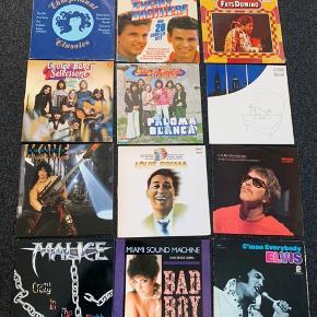 LP'erne har brugsspor, men lyden er stadig perfekt. Jeg har en anden annonce med flere LP'er.