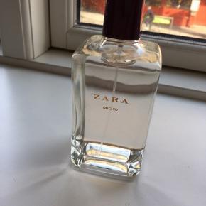 """""""Orchid"""" parfume fra ZARA, 200 ml - brugt få sprøjt.   Hentes i 9000 Aalborg eller sendes på købers regning :)"""