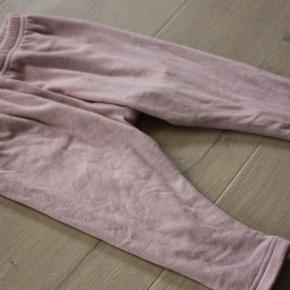 Bløde bukser i dobbeltlag stof, uldblanding