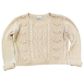 Ganni strik. Ikke brugt. Wool blend. Super lækkert. Length. 50cm