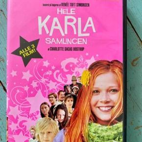 Hele Karla samlingen dvd box  - fast pris -køb 4 annoncer og den billigste er gratis - kan afhentes på Mimersgade. 2200 - sender gerne hvis du betaler Porto - mødes ikke andre steder - bytter ikke