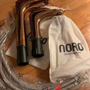 Noro Scandinavia Ocean håndvaskbatteri - armatur - vandhane, rosé. Blandingsbatteri i forkromet messing - en lav tilbage. Aldrig brugt. Bud modtages.
