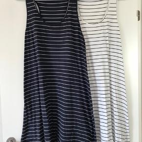 a907ce1708d Vila kjole / sommerkjole str. XL 2 stk. Blå/hvid stribet. Kun