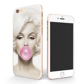 iPhone cover i hård plast med billede af Marilyn Monroe.