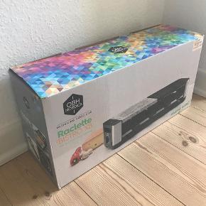 Sælger fuldstændig uåbnet OBH Nordica Raclette Bistro X8.  Vi fik 2 til jul, og fik aldrig den ene byttet. Derfor sælger vi den nu BILLIGT.