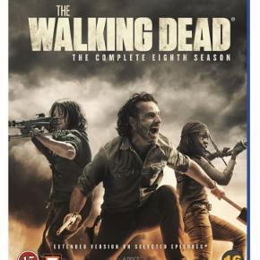 The Walking Dead S8 m. danske undertekster.  Afhentes i Kastrup