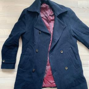 Dressman branded 50R thick winter coat with silk lining