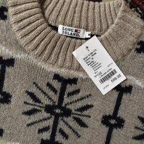 Dejlig fin sweater i god kvalitet. Se billederne.  Så let og behagelig.  Størrelsen er som M.