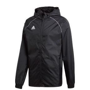 Sælger denne regnjakke fra Adidas. Adidas Core18 Rain Jacket Voksen. Det er en str. S og er i super god stand.  Køber betaler fragt