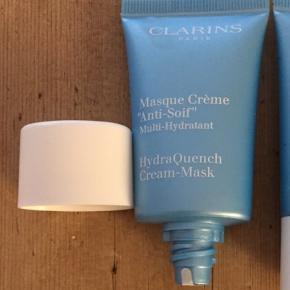 Clarins, se billeder Hydra Quench cream mask / creme maske  15 ml   Mængderabat gives ved køb af flere af mine annoncer ☺️