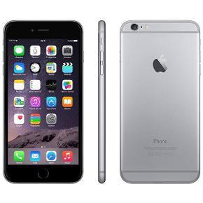 IPhone 6 1 år gammelt men er i fin stand. Fejler intet har kun en lille rids oppe i venstre hjørne.  32 GB BYD