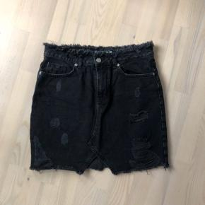 Denim nederdel med stræk fra ZARA Størrelse S
