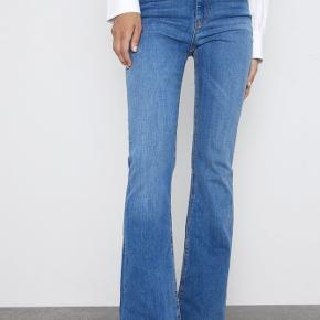 Sælger jeans fra Zara.  Har klippet dem i bunden (jeg er 170) og de er lidt lange til mig - men klippede dem fordi de fik et federe look.  Aldrig brugt dog!  Str. 36