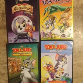 Tom og Jerry film 25kr pr stk