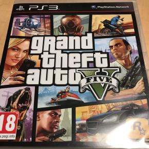 GTA 5 til PS3.Fik det aldrig gennemført før jeg købte mig en ps4.