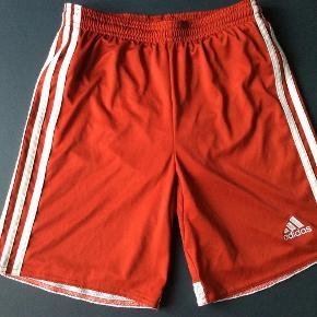 Varetype: Shorts Størrelse: 12år Farve: Rød  Shorts brugt få gange.    Livvidde 30*2 cm  Længde 38 cm    Pris 50+