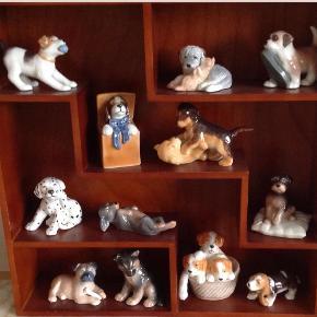 Varetype: Puppys Størrelse: 3- 8cm Farve: Kulørt  Collektion Puppy, udgået 12 forskellige, pr stk. 350 / 450kr. Sender, har mobilpay og PayPal.
