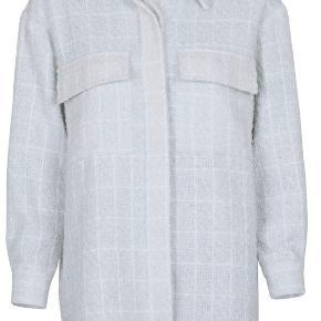 Mega fin boucle oversize jakke / skjorte