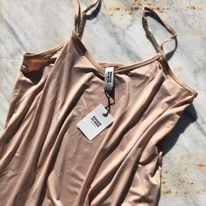 Magasin du Nord  Beige strap top  Size M Material: 92% polyester // 8% elasthan  Still with tag - never used.